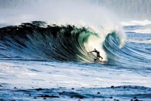 Peter Devries Surfing Canada