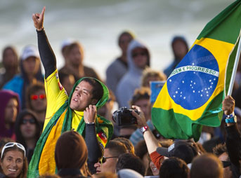 Adriano De Souza Champion Brazilian Surfer