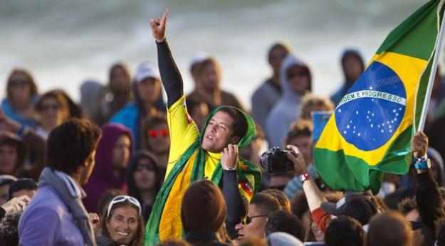 Adriano De Souza Brazilian Surfer Champion