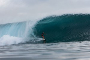 Malibu City Councilman Skylar Peak. Enjoying his office in Indo circa 2010.