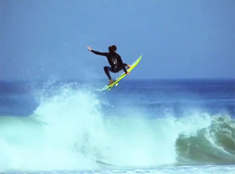 Matt Meola Surfing