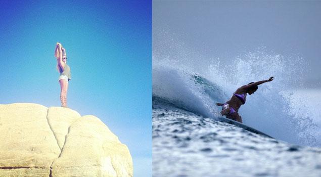 Alana Blanchard Sexy Surf