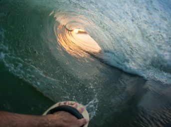 There's one perspective that all surfers love: being inside a barrel. Here are 18 of my favorite barrel shots, all from the water. All that's missing is you.