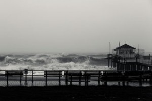 Hurricane Sandy Ocean New Jersey Destruction Pier