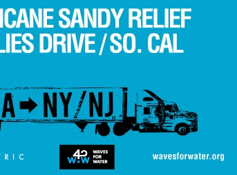 Waves for Water: HUrricane Sandy Relief