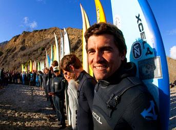 Greg Long Mavericks Invitational 2012