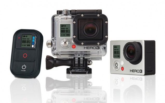 The GoPro Hero 3. Go make memories.