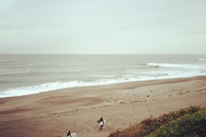 A gray day on the Oregon Coast. Photo: Katy Bryce