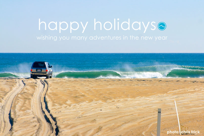 The Inertia wishes you a Happy Holidays and many adventures in 2013! Photo: Chris Frick