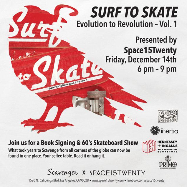 Scavenger Surf to Skate Flyer