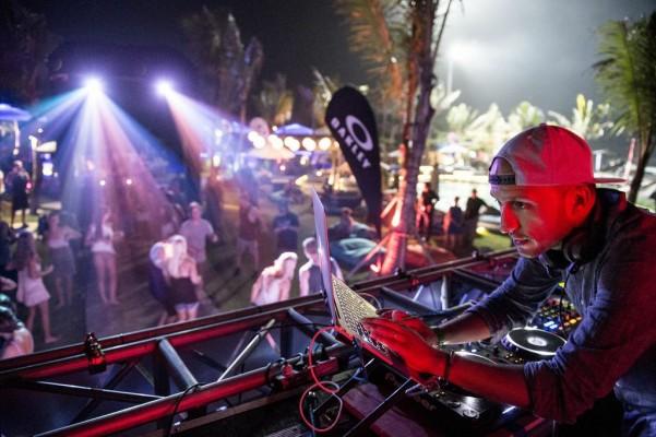 Party down at the Oakley Pro Bali. Photo: Craig Kolesky