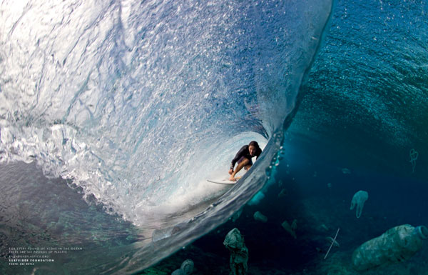 It might be all blue barrels and skies above the water's surface, but below is just as important. Photo: Zak Noyle
