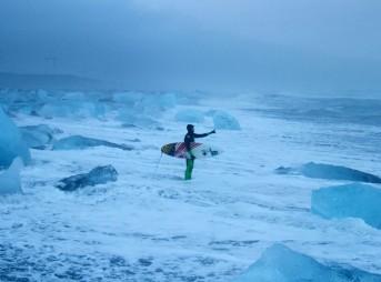 Freezing Icy Surf
