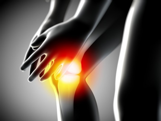 Knee pain...never a good thing. Photo: Shutterstock
