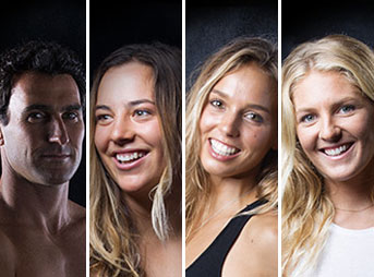 With awards season underway, some of the world's best surfers are up for a few prestigious titles. Joel Parkinson is nominated for Sports Dad of the Year, Steph Gilmore is up for the Service to the Sport award, and Sally Fitzgibbons and Tyler Wright are both contending for Sportswoman of the Year.