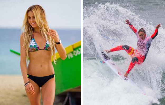 Alana Blanchard, not surfing. Photo courtesy of Cooler Mag