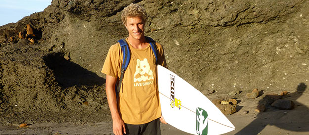 Kyle Thiermann, surfing for change.