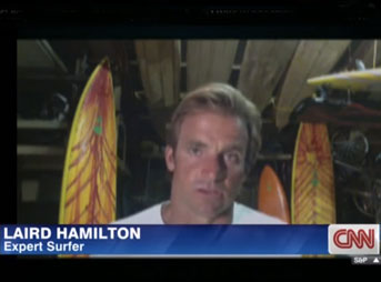 Laird Hamilton has never been one to mince words. In an interview with CNN about the recent mega-swell at Nazare's North Canyon that almost took Maya Gabeira's life and potentially set a new world record for biggest wave ever surfed, he said a few things that are bound to stir the surf-world's pot.