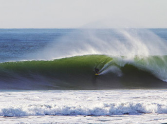 Ocean Beach, San Francisco blew up last week. When it's firing, it's not a place for the weak of heart. Gaping, heavy barrels and freezing cold water make it a haven for some of the best chargers in the world.