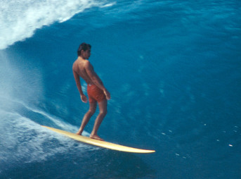 Gerry Lopez Surfs Pipe