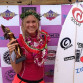 Bethany Hamilton won the Surf N Sea Pipeline Pro. In a final that included three Hawaiians and a girl from Japan, Bethany took on Moana Jones, Dax McGill, Sayuri Hashimoto.That is amazing.