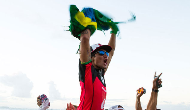 How many times have people said the Brazilians have arrived? Well, say it again. Photo: James Booth/Charlie Hardy