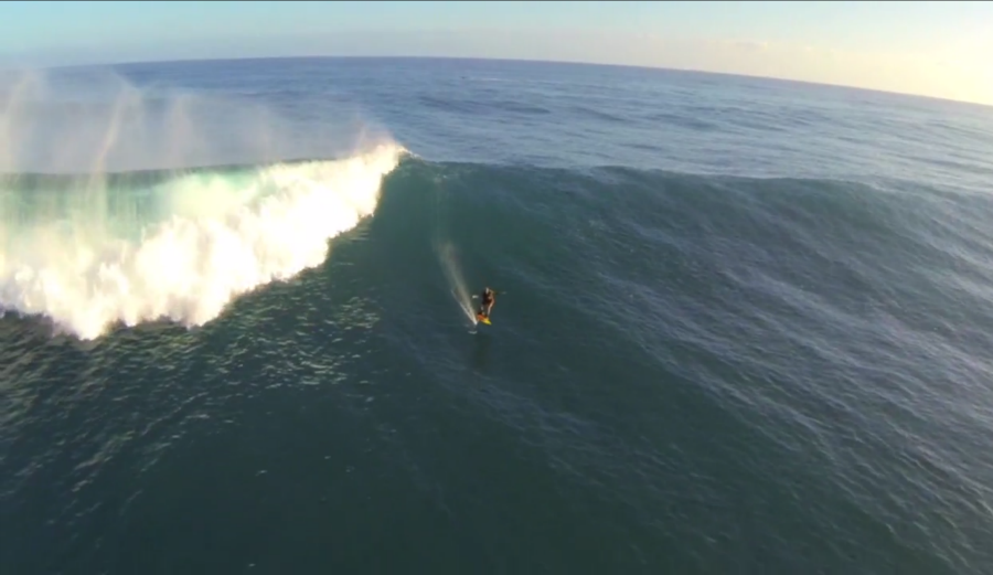 Drone Captures Laird Hamilton Foil Boarding Kauai | The ... | 900 x 521 png 673kB