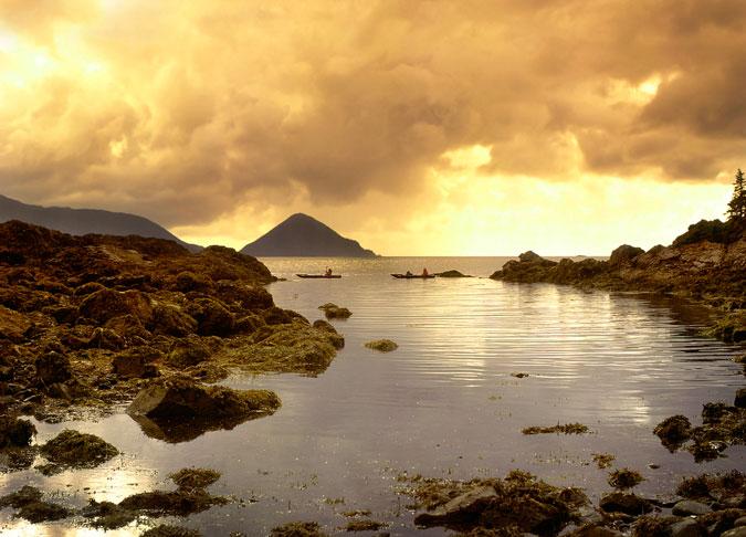 Serenity now. Haida Gwaii, British Columbia. Photo: Shutterstock.