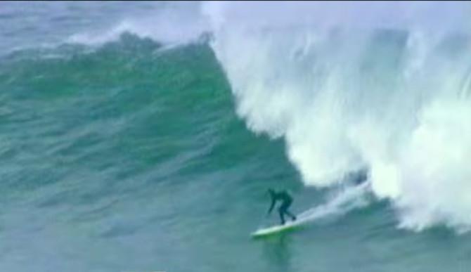 Sarah Gerhardt First Woman to Surf Mavericks