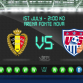 The US faces off against Belgium today in the 2014 World Cup. But who would win if the sport were surfing? Photo: EPL Index