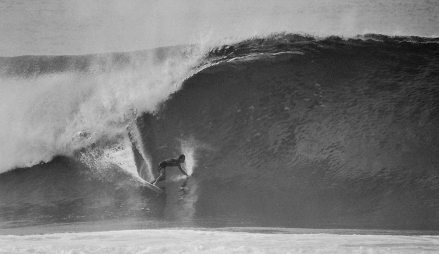 Gerry Lopez Surfs Pipeline For The First Time The