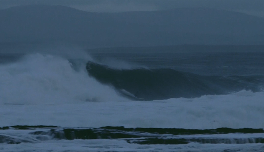 Fergal Smith Charges One of the Biggest Paddle Days Ever at Mullaghmore