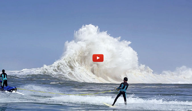 Was This the World's Craziest Wave?