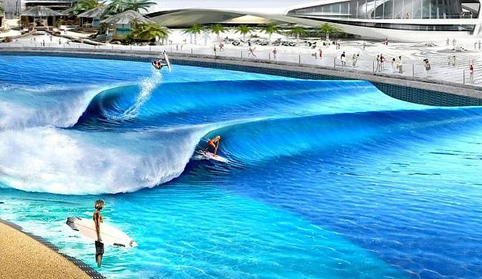 Webber 39 s first wave pool will open on australia 39 s sunshine for Pool design sunshine coast