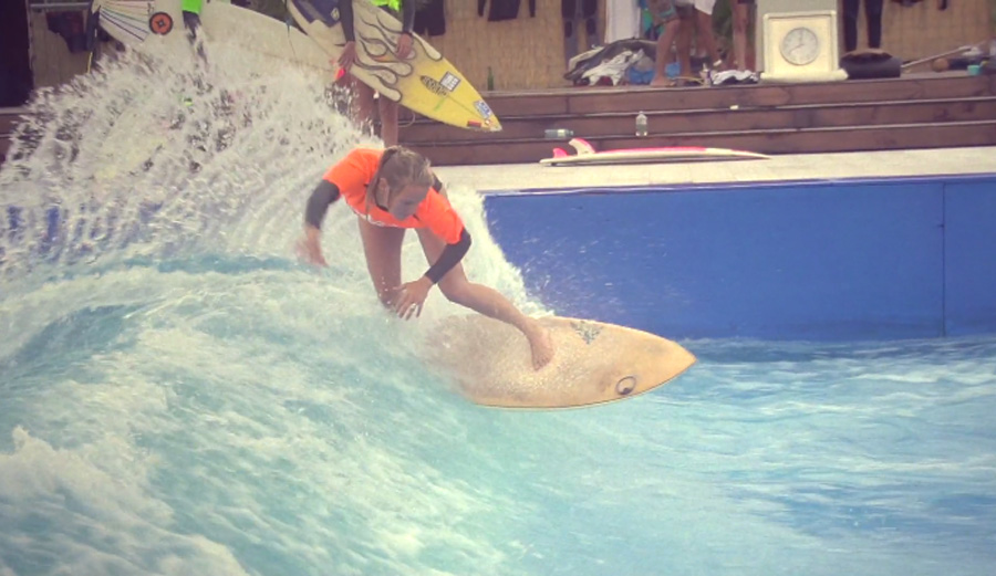 King of the Küste: Germany's Stationary Wave Riding Championships