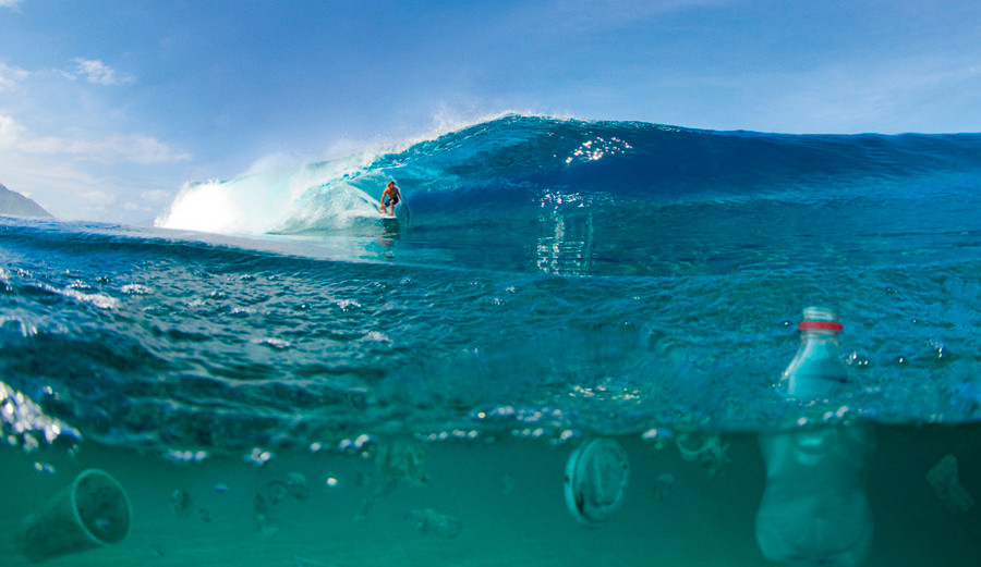 This is not the way it should look. Photo: Surfrider Foundation