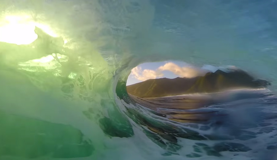 Nat Young Wins ASP GoPro Challenge with Epic Double Barrel at Teahupoo