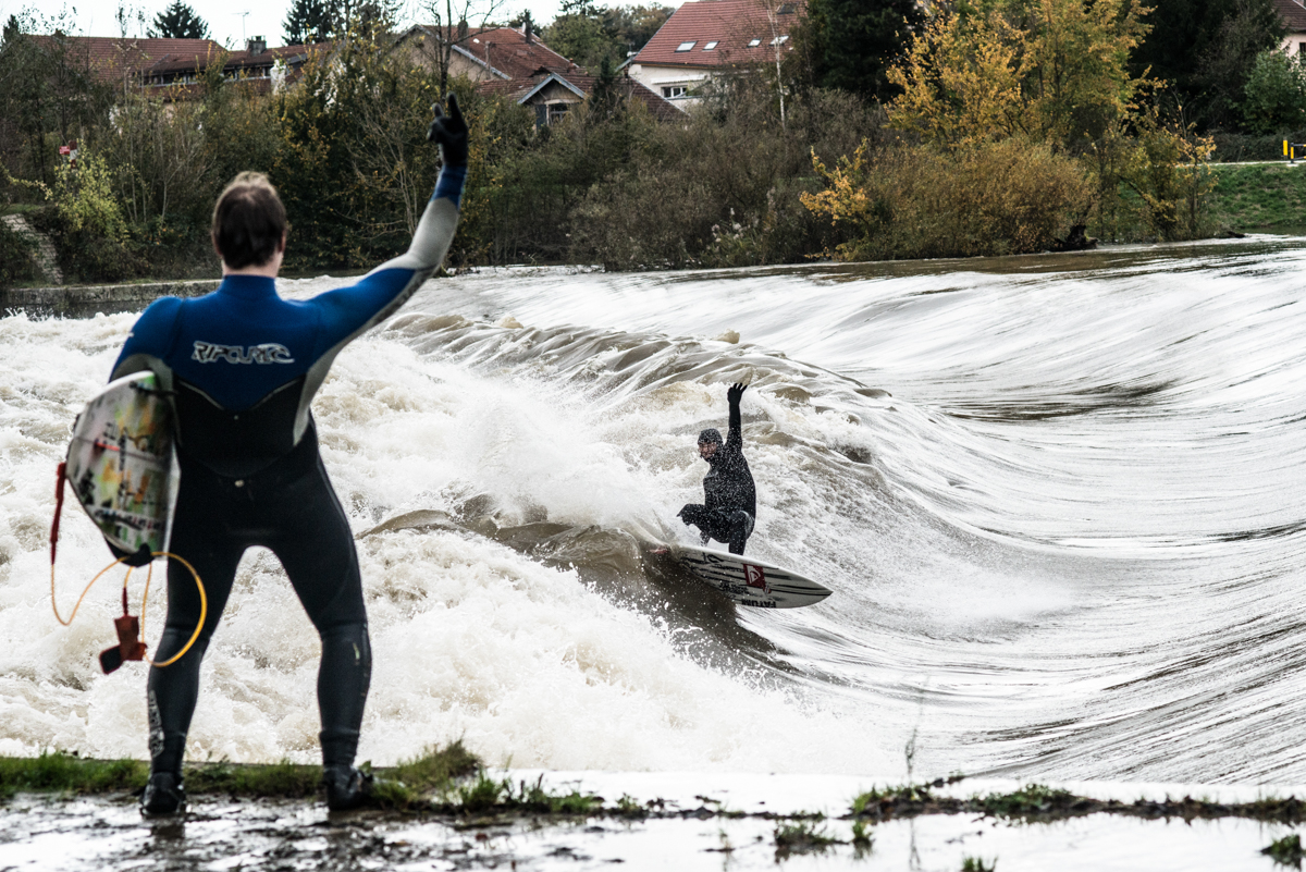 French Connection: River Surfing Le Doubs