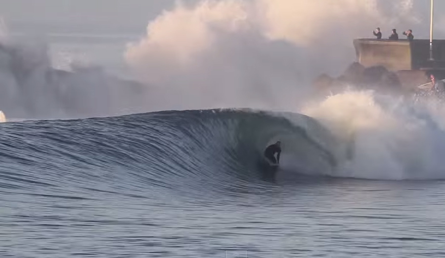 Backwash: New Sandspit Footage from Hurricane Marie