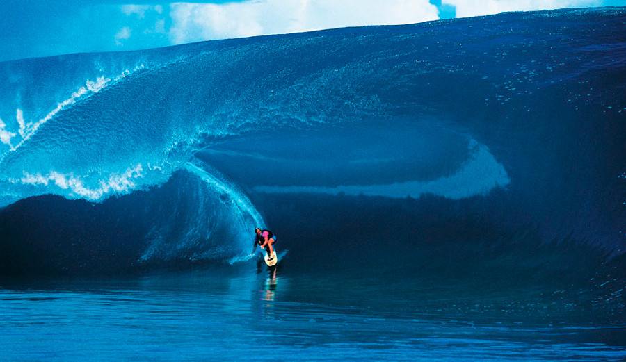 Hollywood Shuts Down Teahupoo Mid Swell For Point Break 2