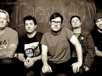 Joey Cape, center. Lagwagon has been a staple in the music scene for years.