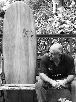Chet Frost, master craftsman. Photo: William Groundwater