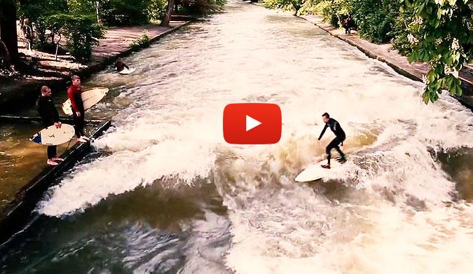 River Surfing In Munich S English Garden The Inertia