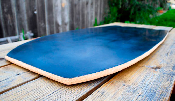 """After a few prototypes, I noticed that the placement of the fiberglass and the thickness of the board made unique flex patterns that I could feel on the wave."""
