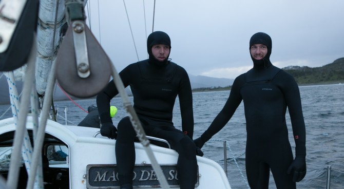 Searching for waves in Patagonia