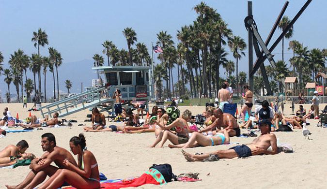 Topless beach italy