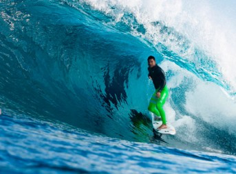 Defending Margaret River Pro champion, Michel Bourez, will be looking to improve his results from Snapper Rocks and Bells Beach. Photo: WSL