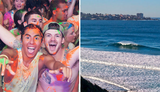 Want to party, surf, and study (in that order)? Photos:(R) UCSD/