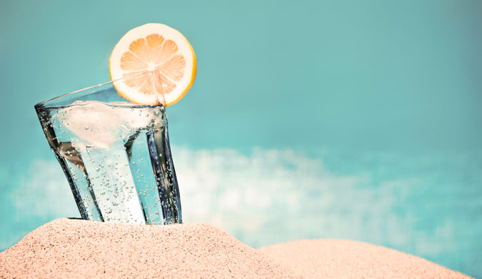 Chances are good that you don't drink enough of this. Photo: Shutterstock
