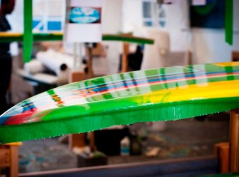 Can you tell that this board is made from epoxy bio-resin with 70% biological content?